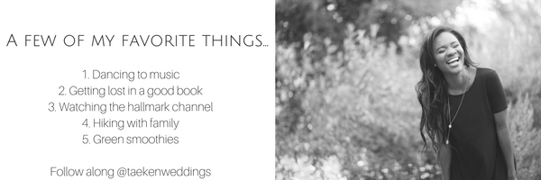 Favorite things about lead planner of Forever Taeken Weddings and Events