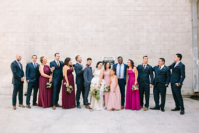 Speakeasy Redlands wedding with Forever Taeken Weddings