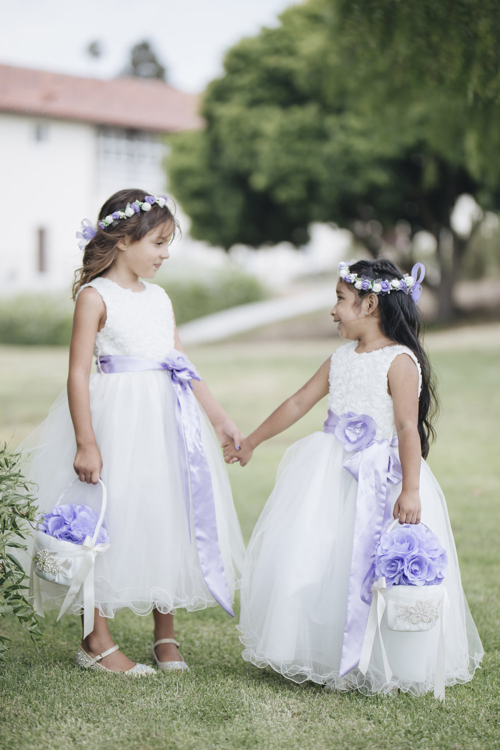 Forever Taeken Flower Girls at The Neighborhood Church