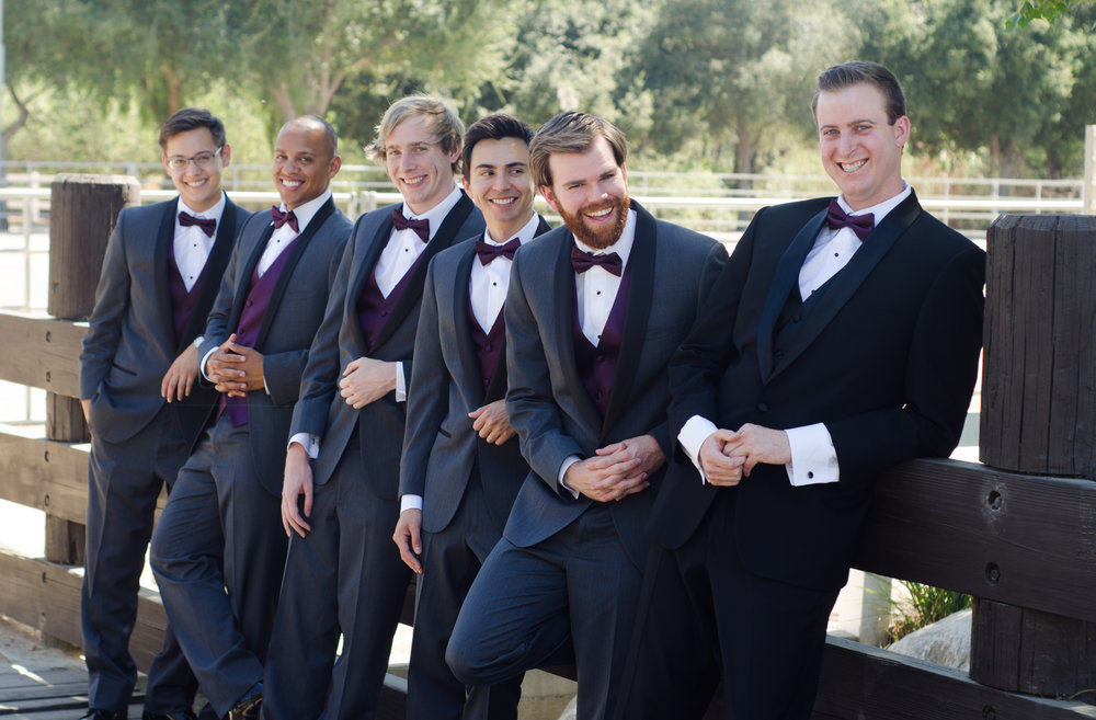 Forever Taeken Groomsmen at McCoy Equestrian Center