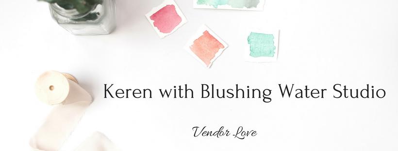 Blushing Water Studio on Forever Taeken Weddings Blog