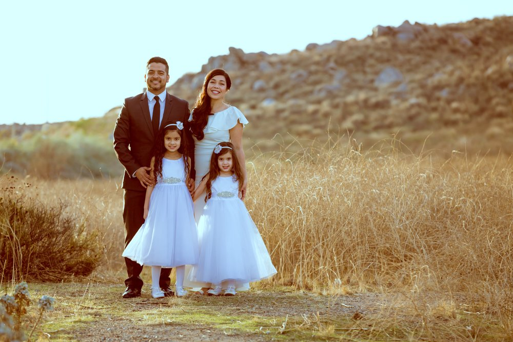 Keren and her beautiful family on their anniversary!  PC:  Natan Vigna Photography