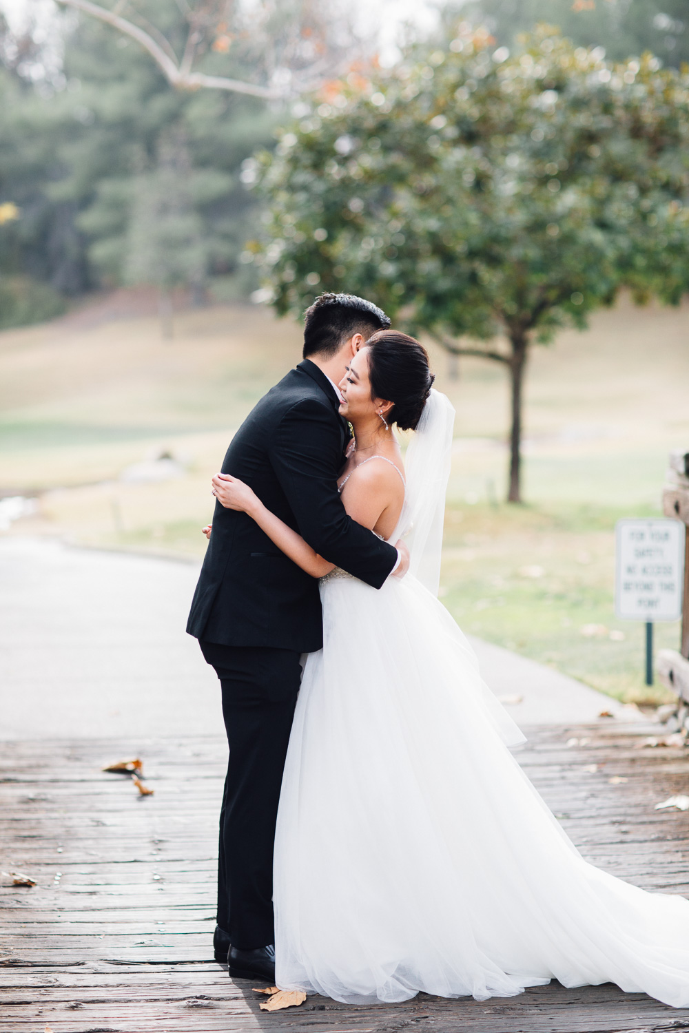 Forever Taeken Wedding Ceremony at Coyote Hills Golf Club
