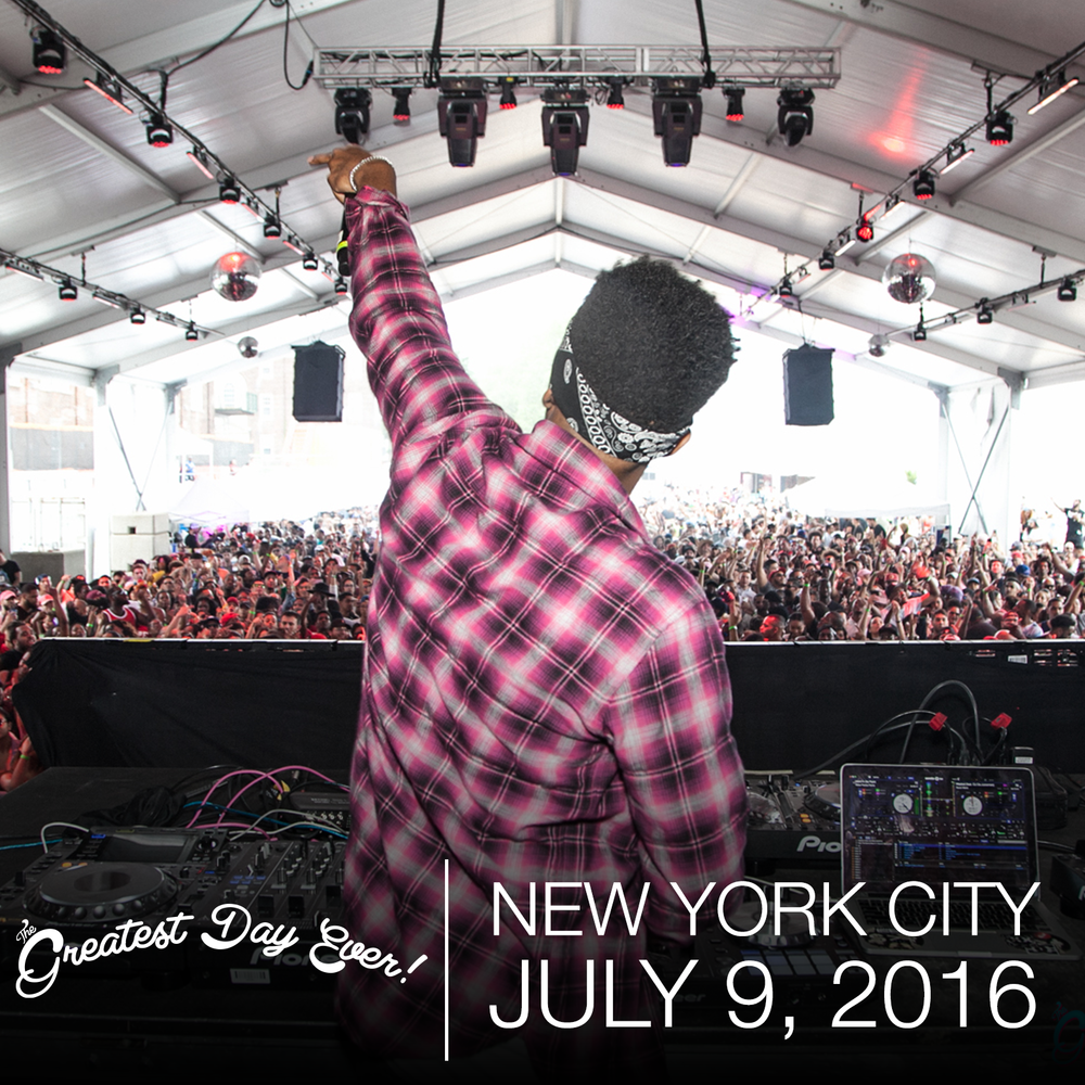 The Greatest Day Ever! Festival NYC 2016