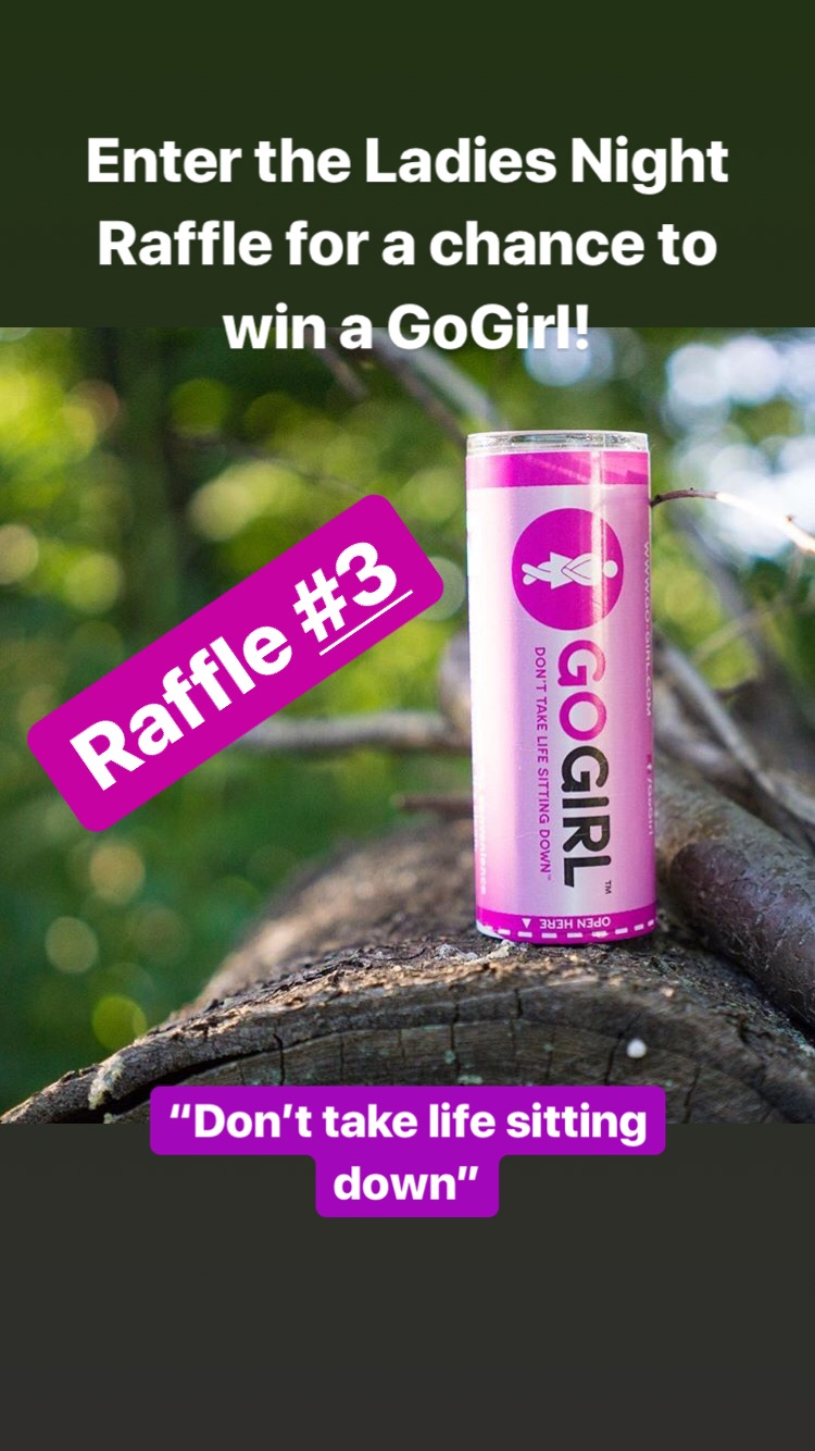 "Raffle Prize #3 - A GoGirl, because you shouldn't ""…take life sitting down""!"