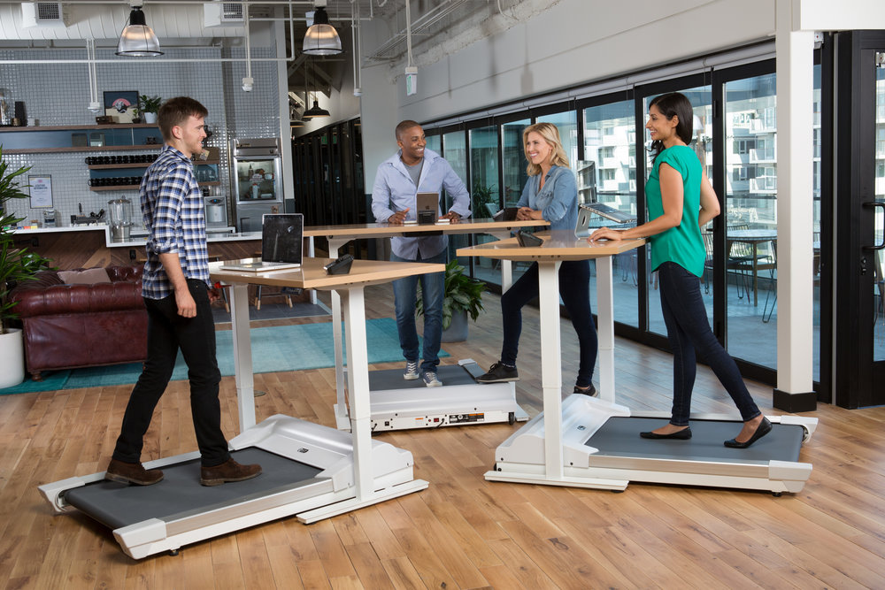 WALK-1 Treadmill Desk Pod