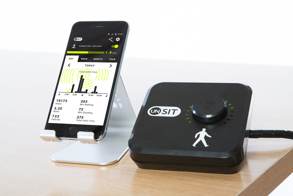 WALK-1 TREADMILL DESK Controller and App