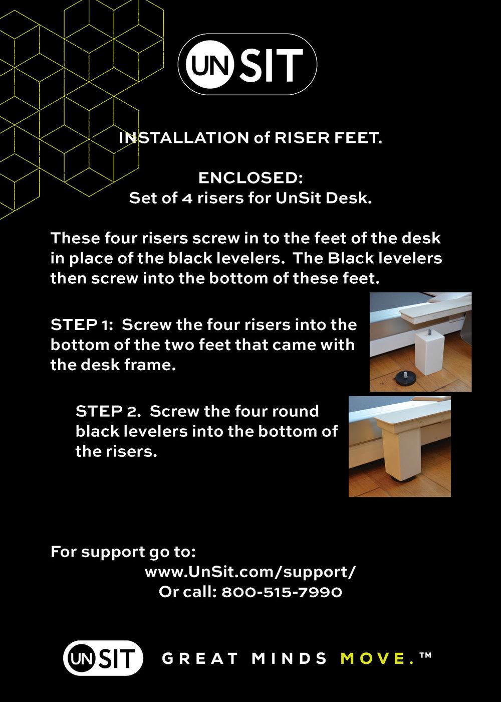 UnSit Desk Riser Installation