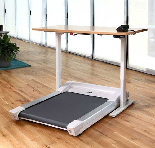 Beau Walk 1 Treadmill Desk U2014 UnSit   Treadmill Desks Made For The Office