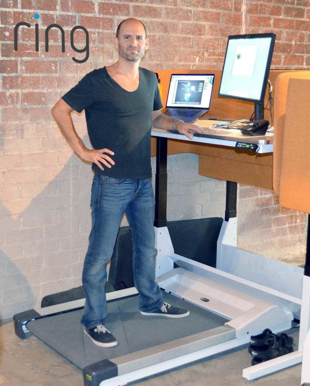 Elliot Lemberger's workspace at Ring