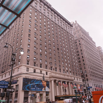 Hotel Pennsylvania Seventh Avenue NYC's Fourth Largest Hotel 1,700 Rooms