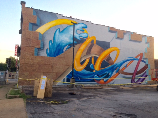 - STL Mural University was created in 2016 by Muralist Robert Fishbone and Ellie Balk alongside lead a diverse group of local artists, community leaders and urban advocates in the Cherokee Street Business in St. Louis, MO. The goal?  Bring meaningful color and joy  through the creation of large scale public art pieces.