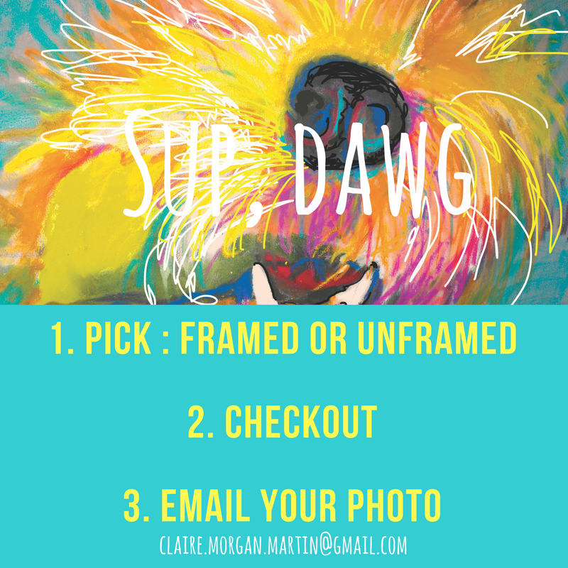 Follow the Online Shopping Cart Squares below to select your favorite style of painting on ClaireMartin.org. Can't decide? Send a gift certificate!