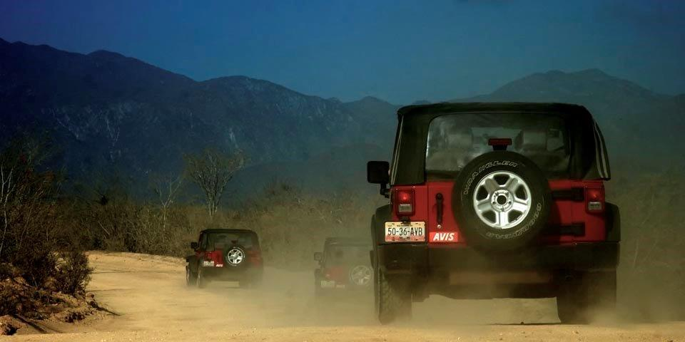 Off roading to Cabo Pulmo