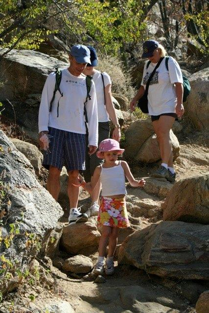 Hiking Fox Canyon in Los Cabos