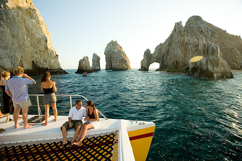 Cabo Jazz & Wine Sunset Cruise on the Tropicat