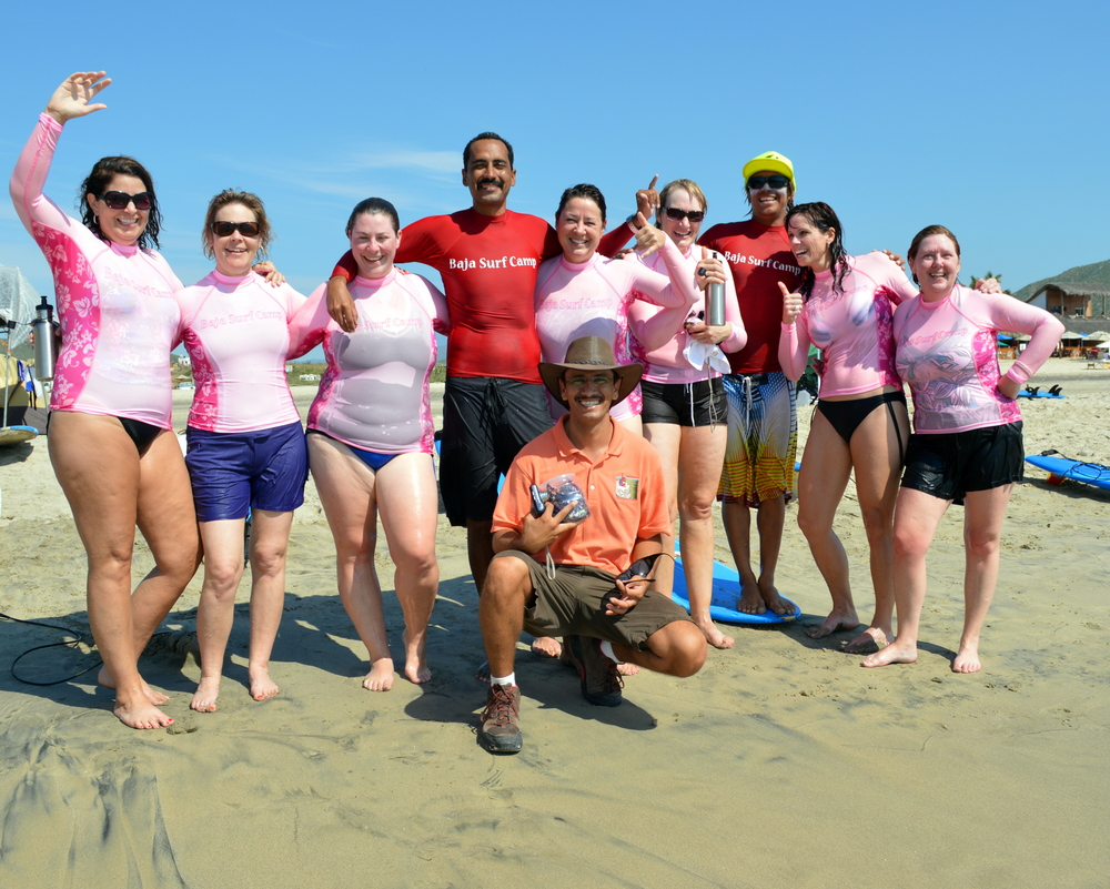 Surfari - Baja Surf Camp for Ladies