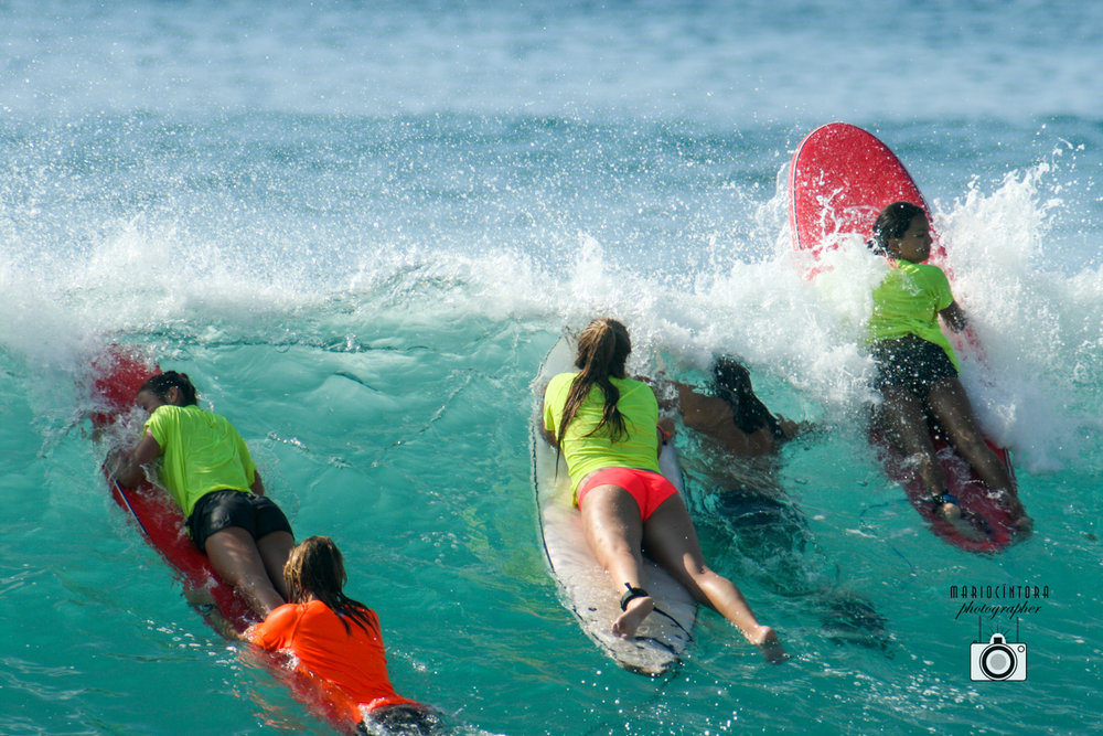 Private Surf Lessons Surf lessons at Costa Azul and Cerritos