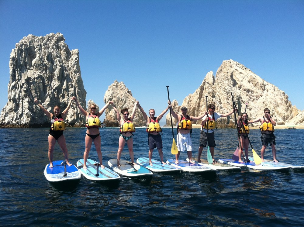 Stand Up Paddleboard Learn to SUP in the Bay of Cabo San Lucas.