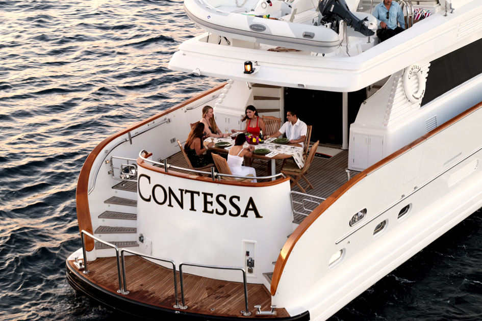 The Contessa 85 FT Motor Yacht