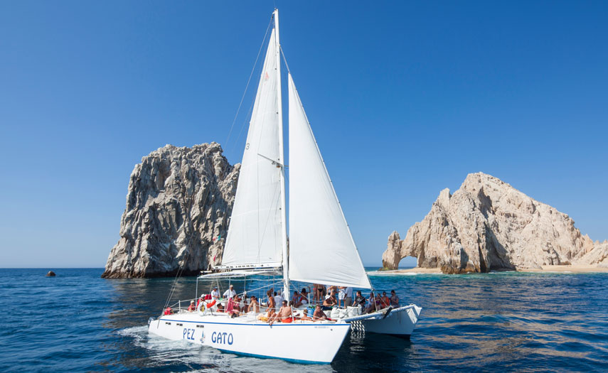 Pez Gato 1 & 11 offering sunset and snorkel cruises One of the best party boats in Cabo...