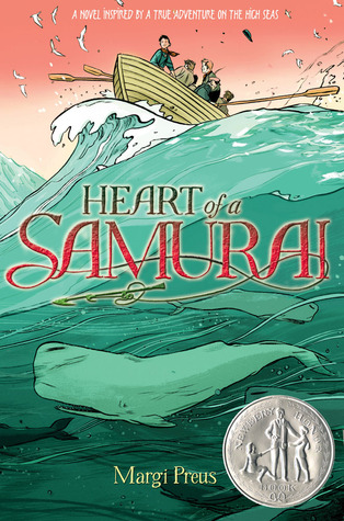 Preus, Margi. Heart of a Samurai: Based on the True Story of Nakahama Manjiro. Amulet Books, 2010. 301pp. Grades 5-8.