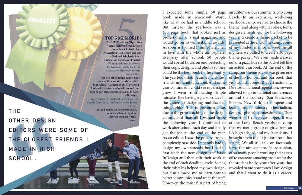 A New Beginning Magazine Spread 2