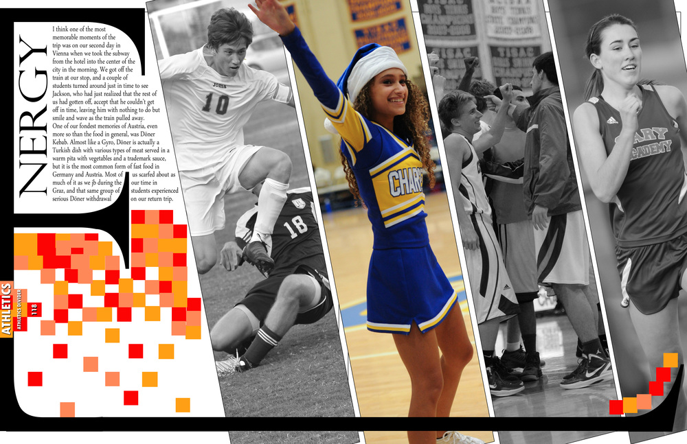 Yearbook Divider Spread 2014