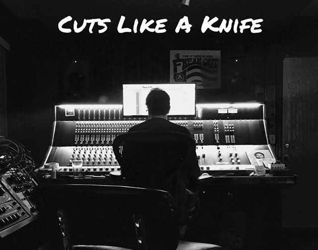 "New Single ""Cuts Like A Knife"" is up on all streaming services now!! Loved making this with our buddy @battletapes Can anybody guess how many bass drums  we used???"