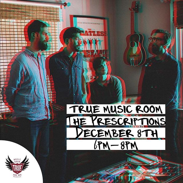 Hey Nashville! We'll be playing a set full of deep cuts and new songs this Saturday at @truemusicroom shows from 6-8 with hangs to follow!