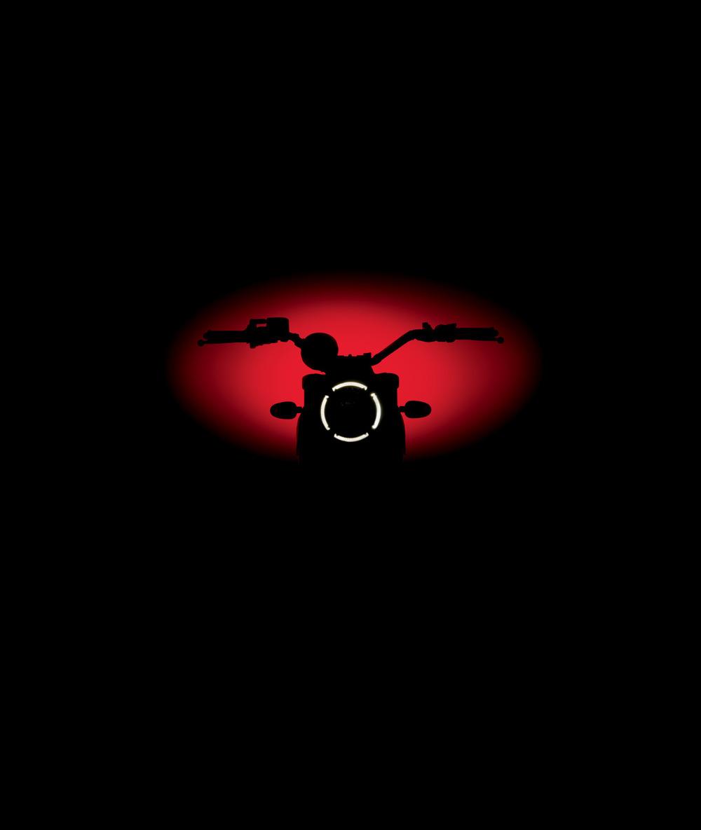 Ducati Scrambler, teased.