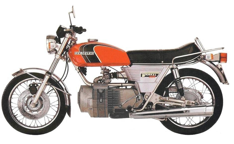 A Short History of Wankel Motorcycles