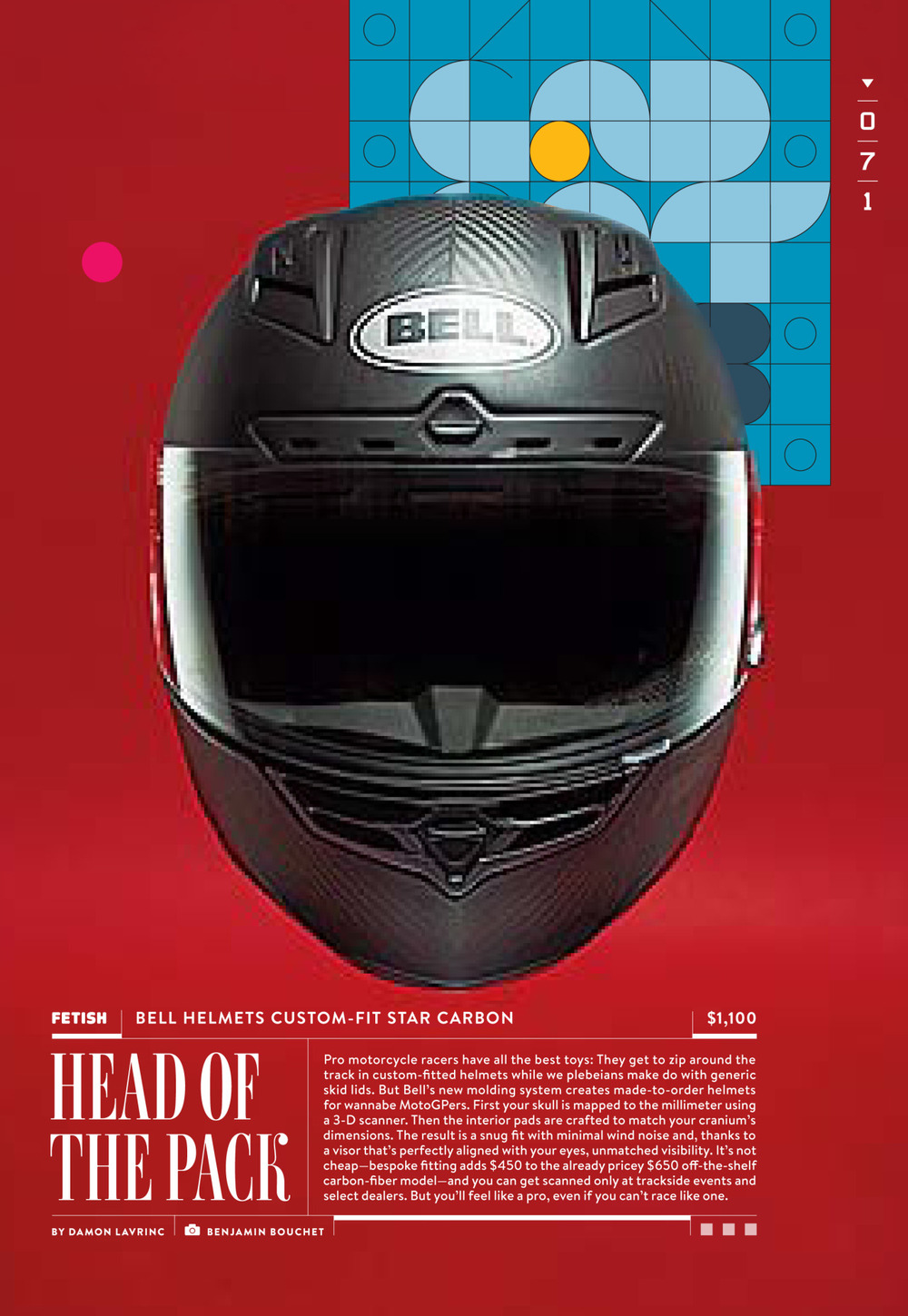 Bell Custom-Fit Star Carbon | WIRED 22.03