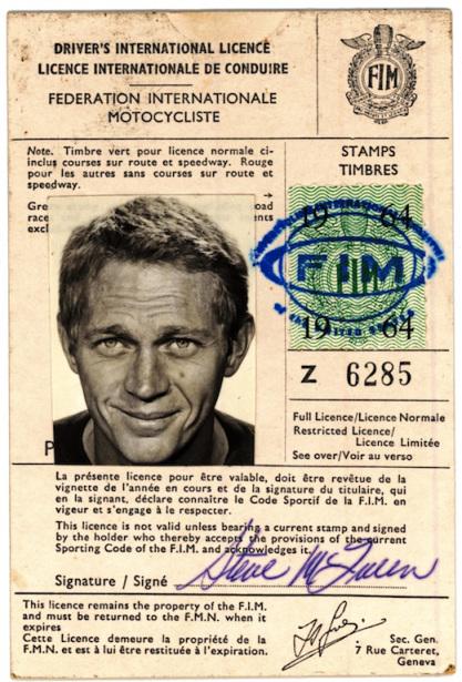 Steve McQueen, Licensed