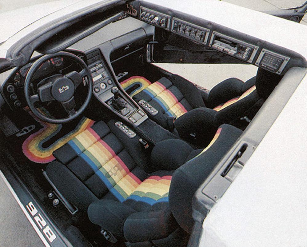 carinteriors: 1979 Porsche 928 Targa by German tuners B+B