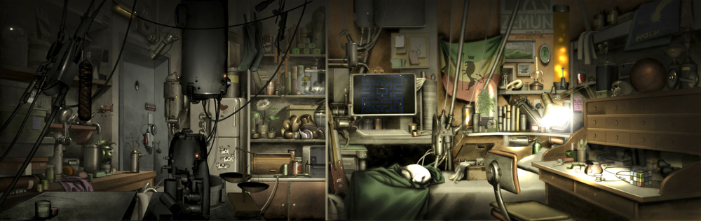 ubergrid :     Gothic-High-Tech-Illustration by brucesflickr  http://flic.kr/p/b6ipoX