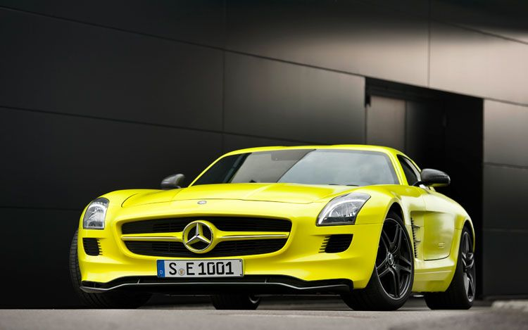 →The future of AMG includes electrification, starts with all-electric SLS E-Cell This is just the beginning