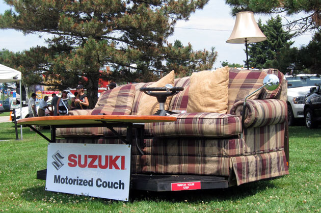 In which I drive a couch at 11/10ths.
