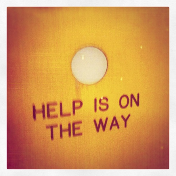 Help Is On The Way (Taken with Instagram at Omni William Penn)