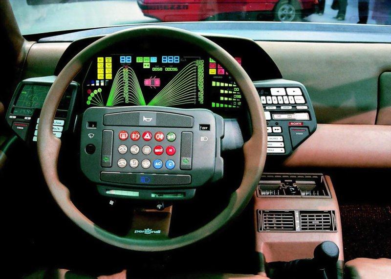 petervidani :     Dashboard of Lancia Orca