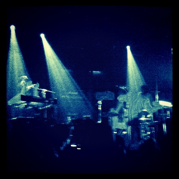 Best use of a theremin since MBM. Neon Indian. (Taken with Instagram at The Independent SF)
