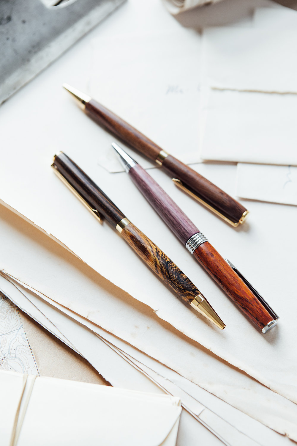 Tiff-wood-pen-etsy-unique-gift-handcraft-handmade-portland-fountain-pen-slims-group-2.jpg