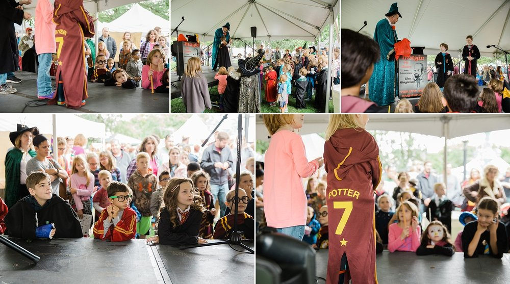 Harry Potter Festival Magic show in Chestertown, Maryland
