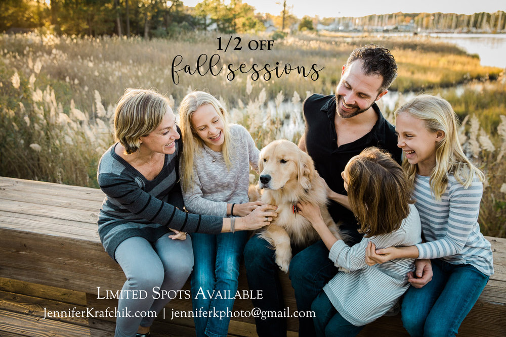 Family photography special in Chestertown Maryland
