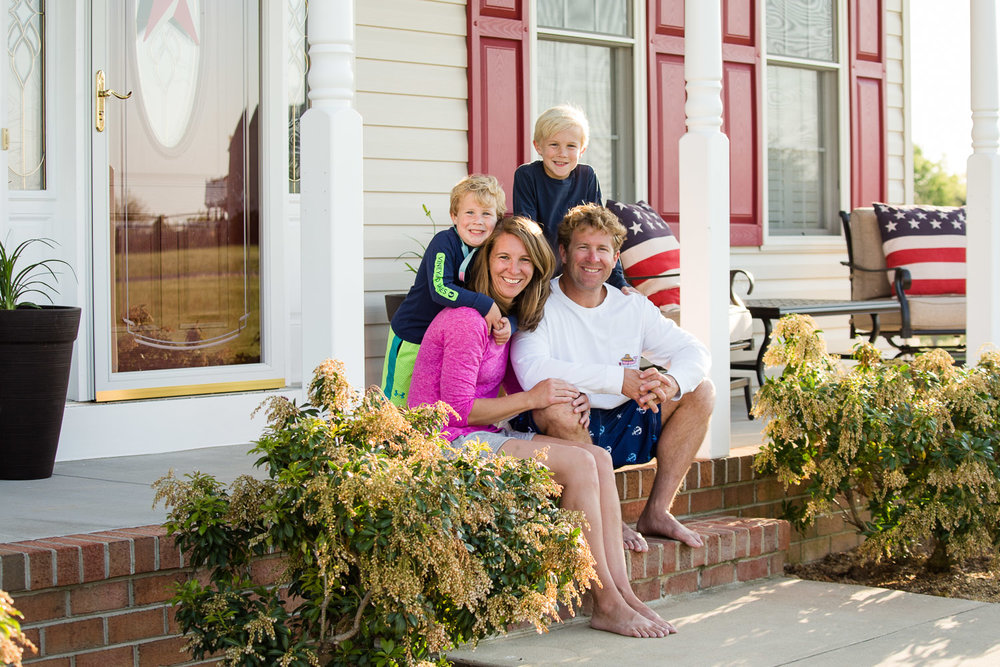 Family pictures in Centreville Maryland