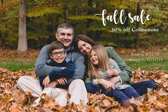 I have a few more spaces left for family photo sessions for 2018.  Let's tell your family's story this year with a FUN and RELAXED photo session.  Message me for more info on this sale.  #jenkrafchik