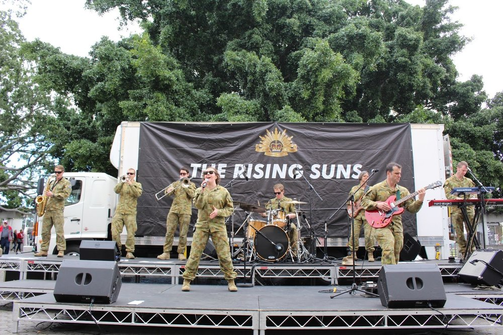 STAGE 6E: Australian Army Rock Band