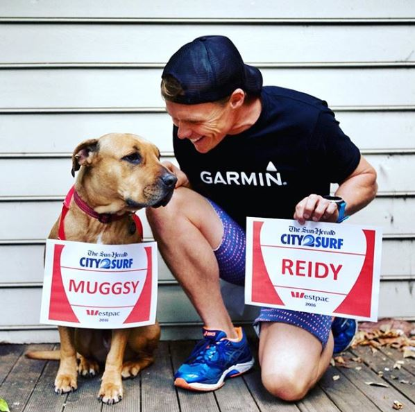 Reidy and his four legged friend. Source: @reidy__
