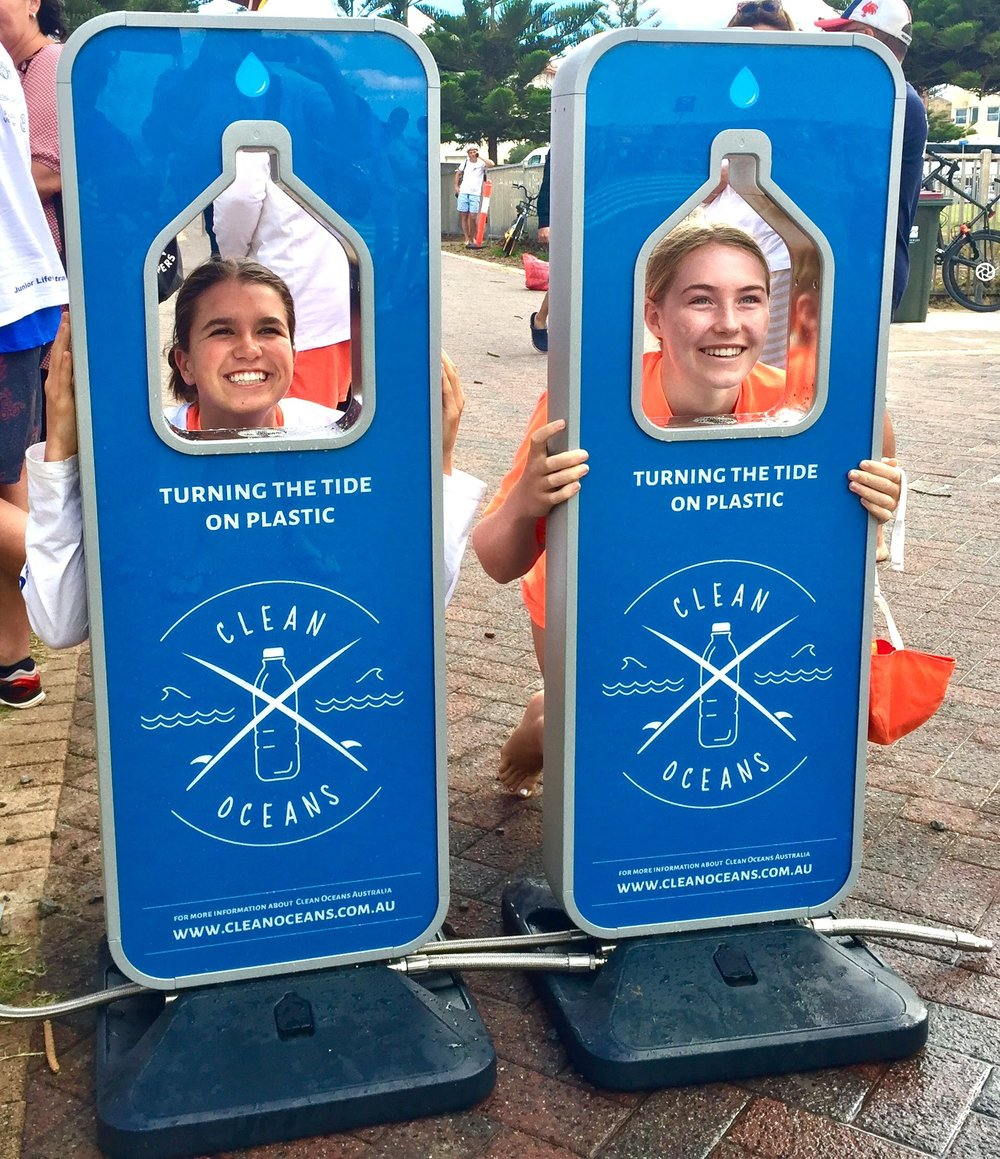Keep your eyes peeled for the self serve refill drink stations.  Image: Brett Pattinson