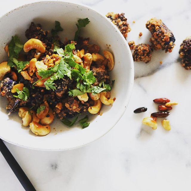 szechuan cauliflower lunch break 🖖🏼
